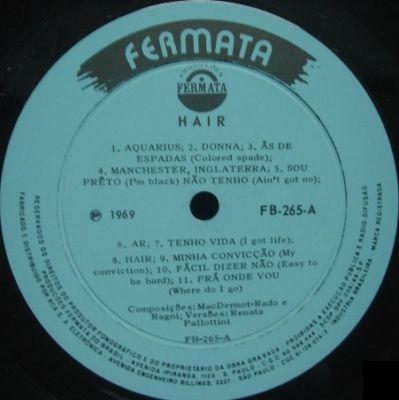 Brazil LP - FB265 side 1