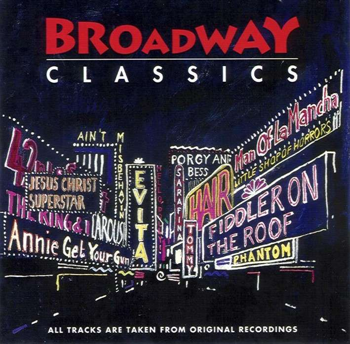 US Broadway CD - BD89667 inlay front