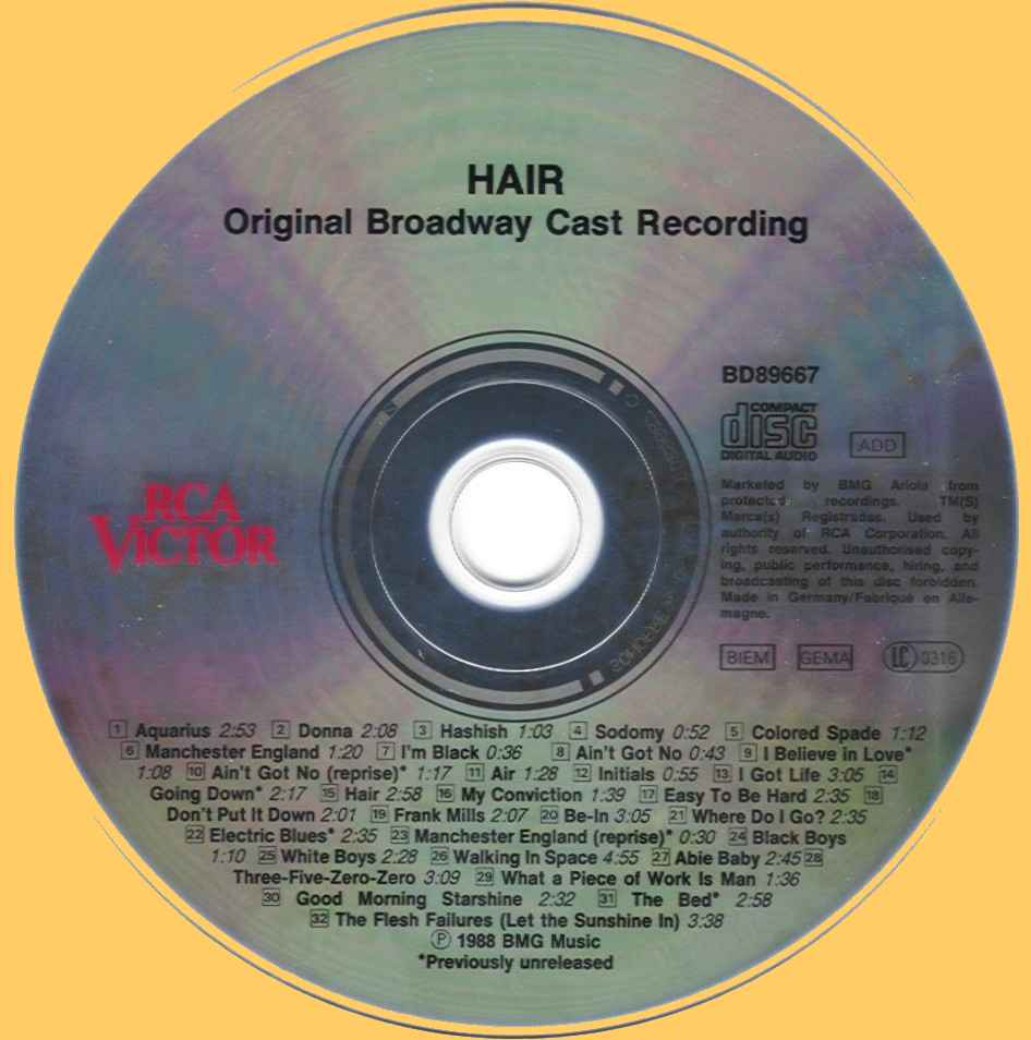US Broadway CD - BD89667 cd
