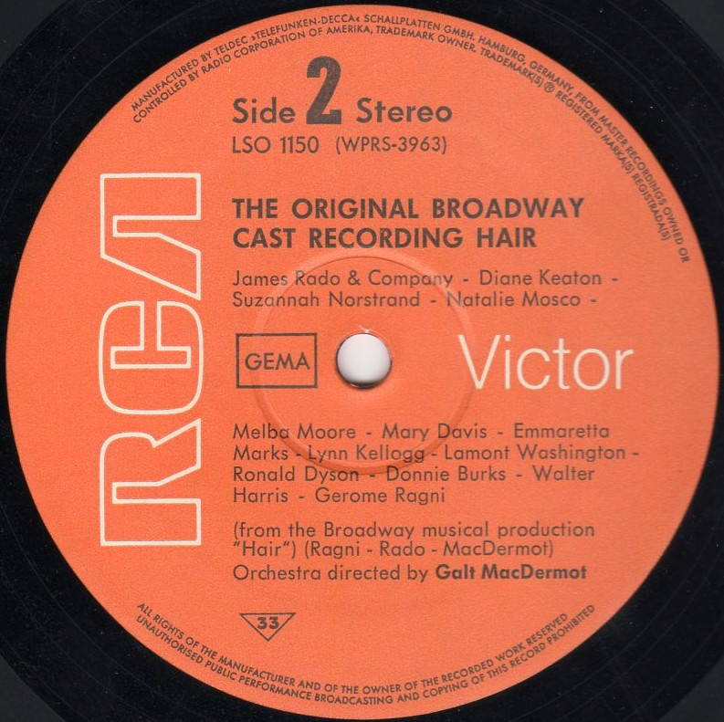 US Broadway LP - LSO-1150 side 2