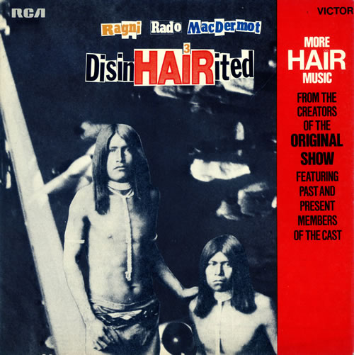 US DisinHAIRited LP - SF8097 front