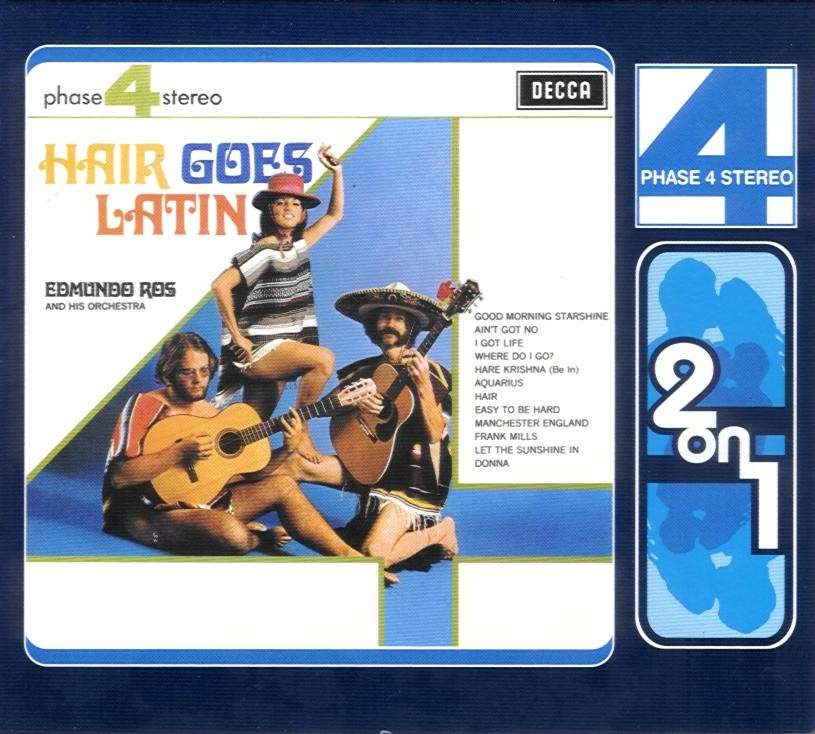 Edmundo Ros - Hair goes Latin CD - 475 6148 front