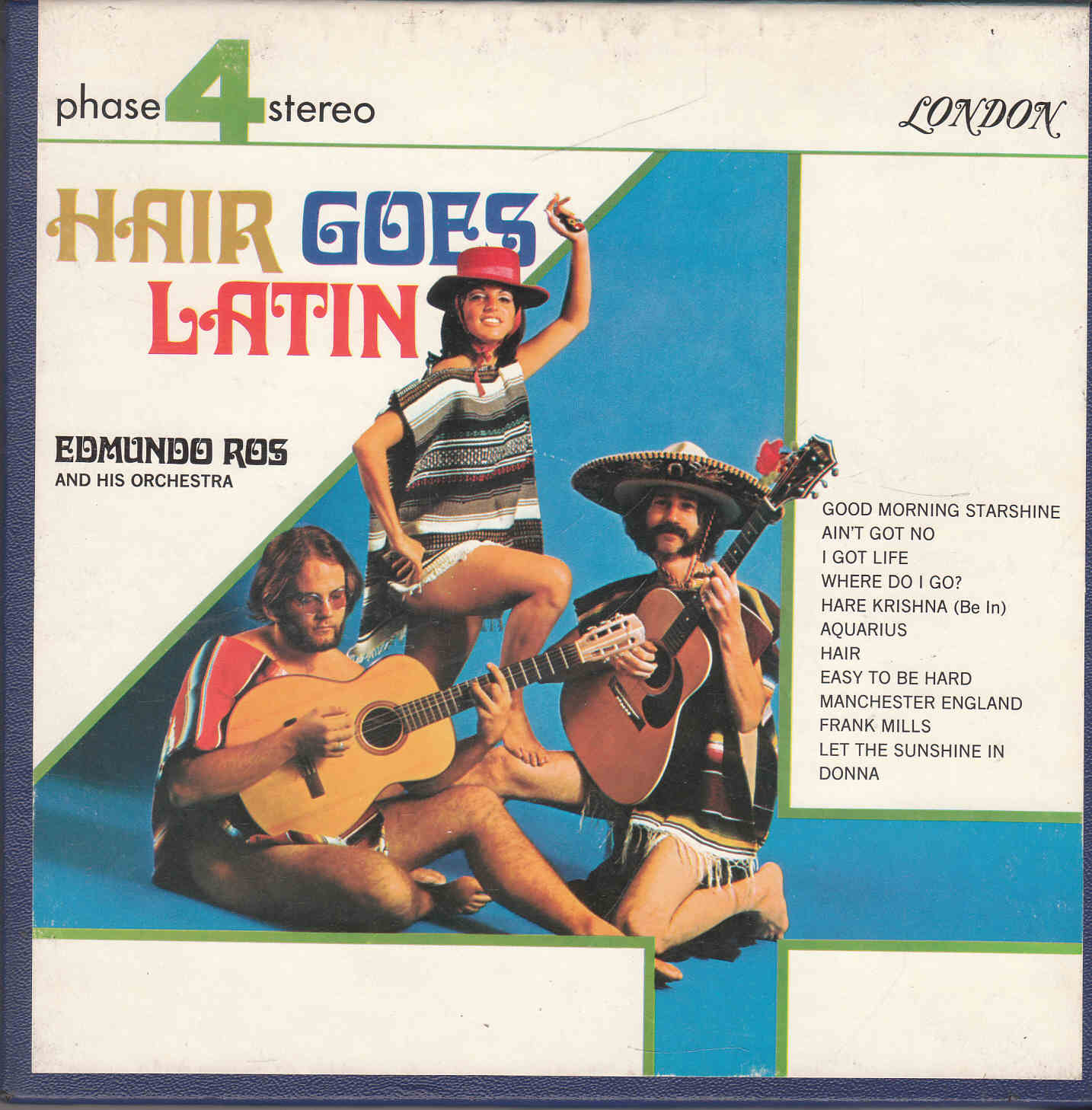 Edmundo Ros - Hair goes Latin R2R - L 74153 front