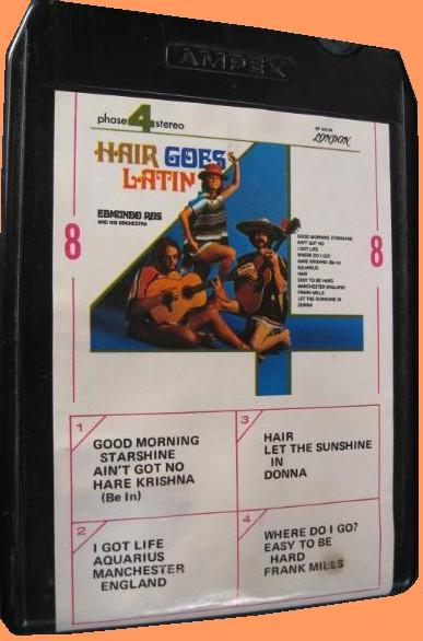 Edmundo Ros - Hair goes Latin S8 - M 14134 front