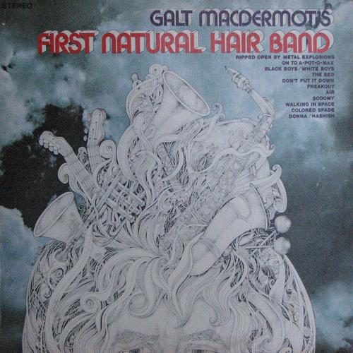 Galt MacDermot's First natural Hair band LP - -SUAL 9333824 front