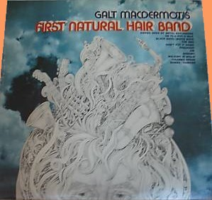 Galt MacDermot's First natural Hair band LP - ? front