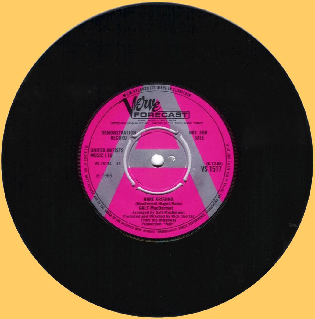 Galt MacDermo's Hair pieces LPS - VS 1517 side 1