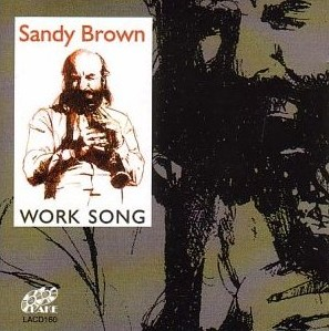 Sandy Brown CD - LACD160 front